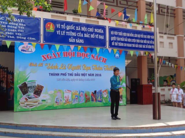 Trường Tiểu học Hiệp Thành, tổ chức ngày Hội đọc sách